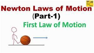 Newton U0026 39 S First Law Of Motion  Law Of Inertia  Iit