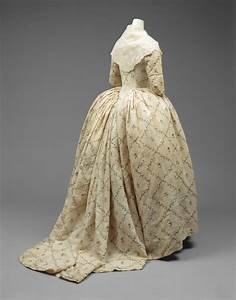 robe a l39anglaise french 1784 87 alainrtruong With robe a la anglaise