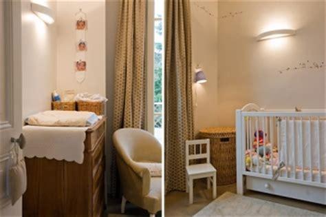 aménager chambre bébé dans chambre parents aménager et décorer la chambre de bébé