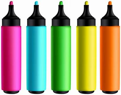 Markers Clipart Colored Transparent Yopriceville