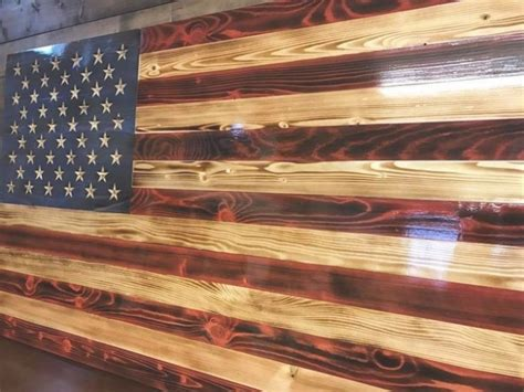 35 Best Rustic Home Decor Ideas And Designs For 2019: 35 Collection Of Rustic American Flag Wall Art