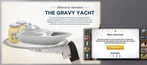 Gravy Boat Yacht by Grey Poupon Gravy Yacht Progressive Promotions