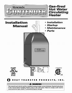 Gas-fired Hot Water Circulating Heater Manuals