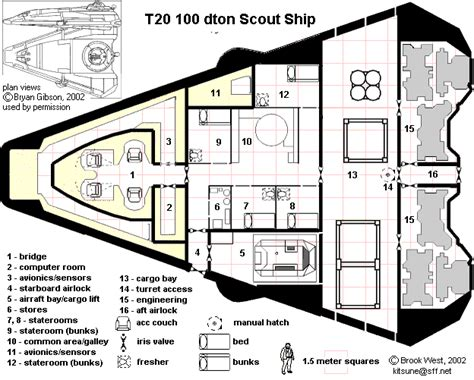 sci fi spacecraft deck plans page 4 pics about space