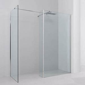 Paroi De Douche : paroi de douche fixe avec retour 170x90 cm altea ~ Melissatoandfro.com Idées de Décoration