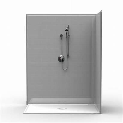 Shower Barrier Corner Tile 36 60 Piece