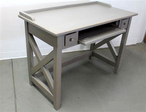 Small Wood Desk by Small Farmhouse Computer Desk From Reclaimed Wood