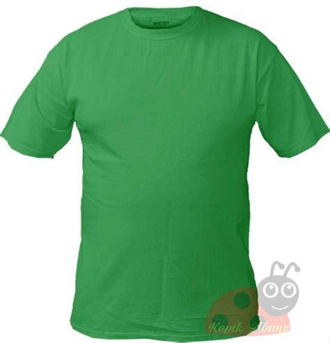 jual kaos polos warna hijau di lapak kepik abang abangkepik
