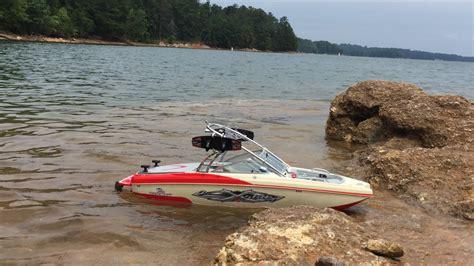 Mastercraft Jet Boats by Mastercraft Xstar Rc Boat Modified Brushless Test