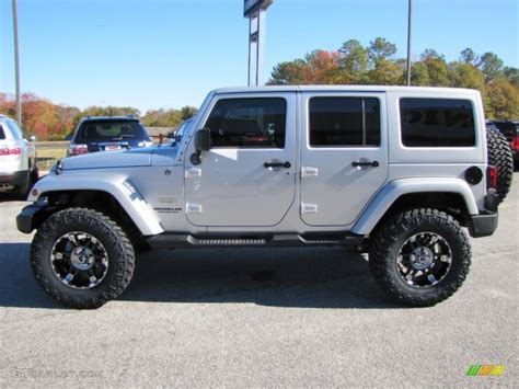 silver jeep liberty with black rims jeep wrangler unlimited custom rims image 314