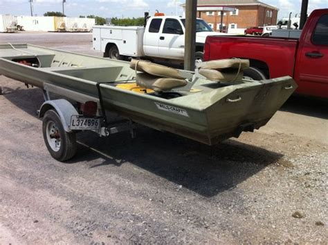 Aluminum Boats With Tunnel Hull by 1995 Weldcraft Tunnel Hull Flat Jon Boat For Sale In
