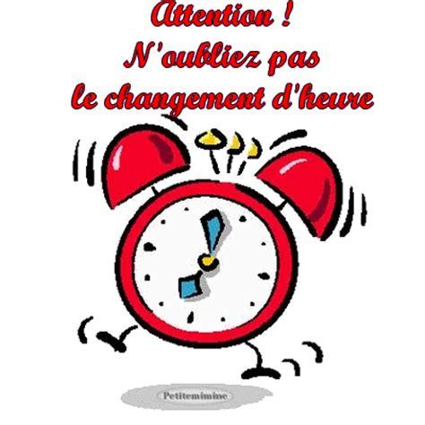 Modification De L Heure by Actualit 233 Changement D Heure Club Football