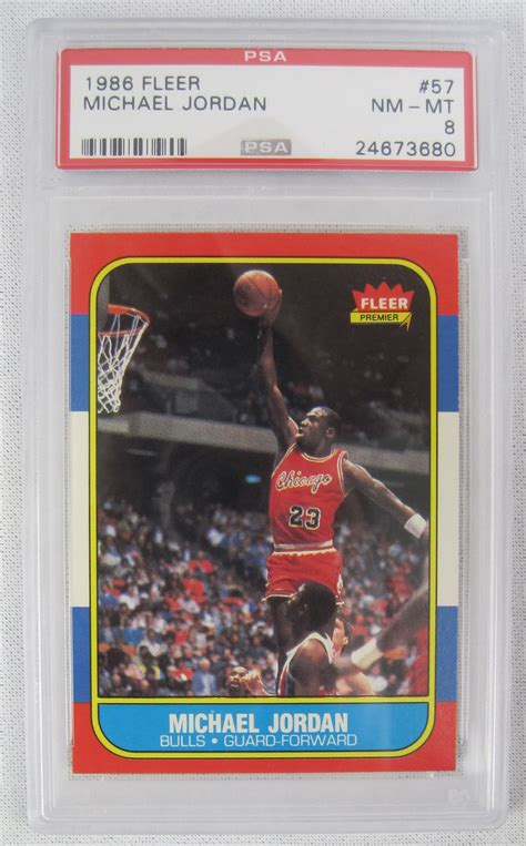 You'll find information on original rookie cards along with details on reprints and special edition cards that commemorate jordan's rookie cards or rookie. Lot Detail - 1986 Fleer Basketball Partial Set w/Michael Jordan PSA 8 Rookie Card