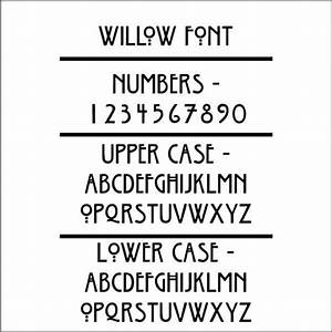 willow font arts and crafts style pinterest With craftsman lettering