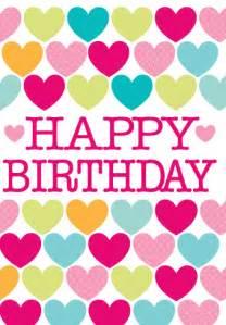 Happy Heart Birthday Card