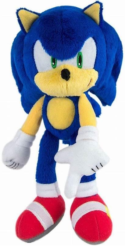 Sonic Plush Hedgehog Modern Tomy Toys Inch