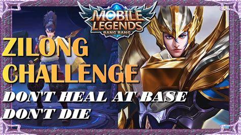 Mobile Legends Zilong Challenge No Deaths No Healing At