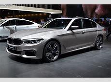 Genf 2018 LiveFotos BMW M550d G30 in Frozen Cashmere
