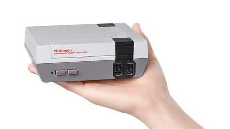 Nintendo Announces Mini Nes, Launching This Fall