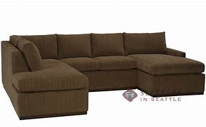 customize and personalize terra true sectional fabric sofa With u shaped sectional with sleeper sofa