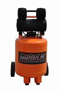 Portable Air Compressor  2 Hp  10 Gallon  Hulk Silent Air