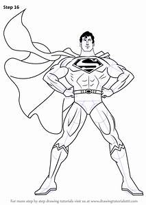 Learn How to Draw Superman (Superman) Step by Step ...