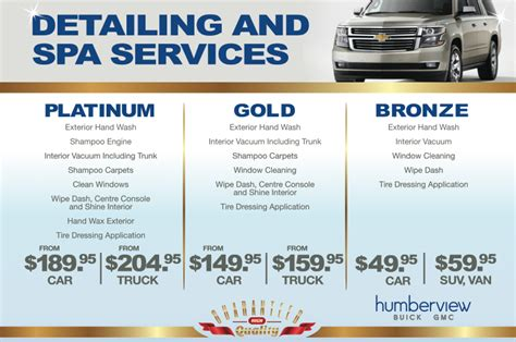 car detailing services  toronto humberview chevrolet