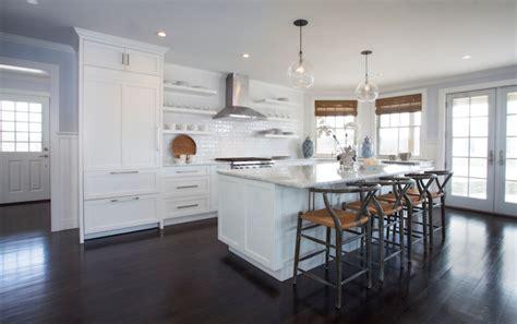 Gray Counter Stools - Transitional - kitchen - Benjamin
