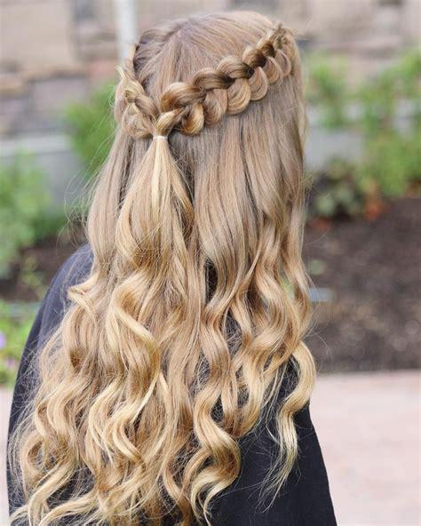 pin  gianna   hoco   hair styles curly hair