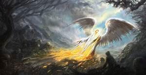 Heaven vs. Hell by sabin-boykinov on DeviantArt