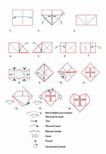 Origami Fleur Coeur D étoile : croquis origami du coeur en papier t te modeler ~ Melissatoandfro.com Idées de Décoration