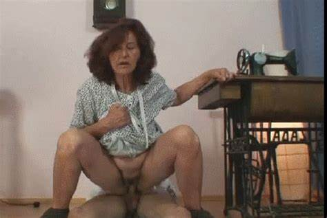 Ripened Man Filled British Granny Youn