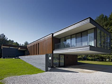 contemporary materials in architecture altius architecture inc clearview residence
