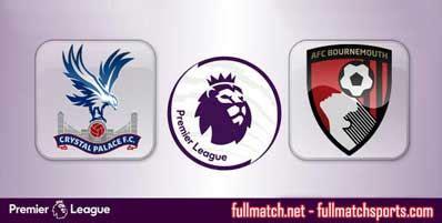 Crystal Palace vs Bournemouth Highlights Full Match ...
