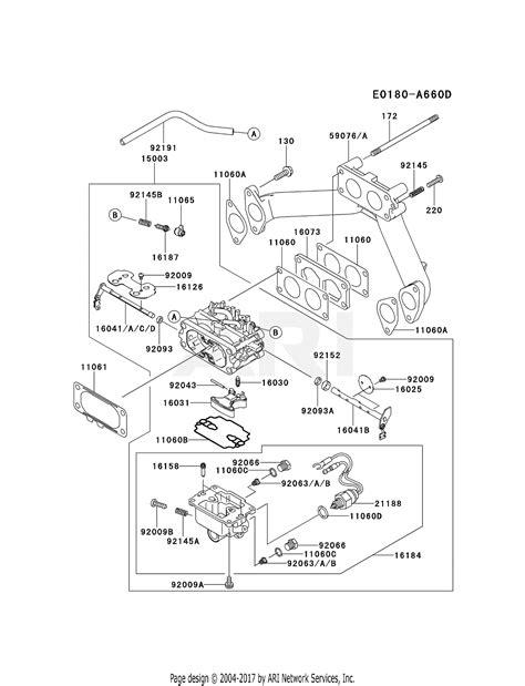 Kawasaki Fhd Stroke Engine Parts Diagram
