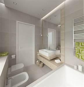 Badezimmergestaltung Ohne Fliesen : popielata azienka z wann inspiracja homesquare ~ Markanthonyermac.com Haus und Dekorationen