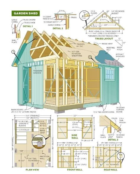 8x8 slant roof shed plans 25 best ideas about storage shed plans on diy