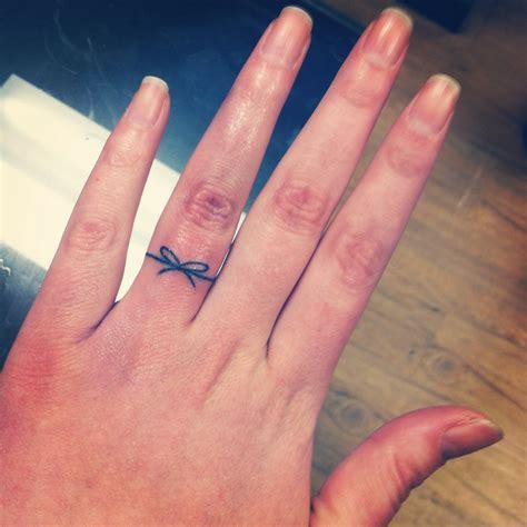 31+ Girly Word Finger Tattoos