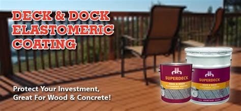 superdeck deck dock elastomeric coating capps home