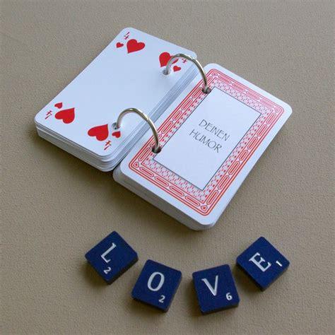 Valentinstag Geschenke Und Ideen Zum Valentinstag by 52 Dinge Die Ich An Dir Liebe Karten Kartenspiel