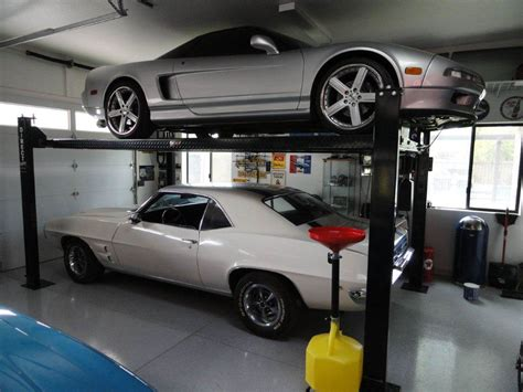 cost to install car lift in garage direct lift we find better custom garage parking storage solutions even with limited space