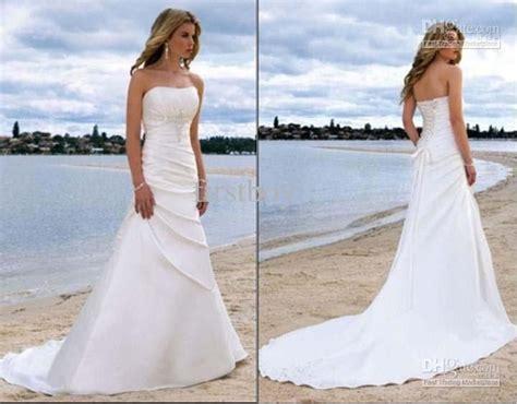 Buy Strapless Sexy Beach Wedding