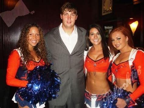 Blacktie | Photos | Broncos cheerleaders pose with Jay ...