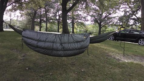 hennessy hammock underquilt bwca insulating my hennessy hammock boundary waters gear forum