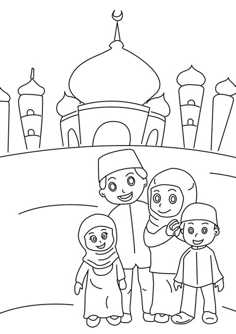eid mubarak coloring pages  getcoloringscom  printable colorings pages  print  color