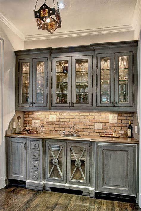 rustic grey kitchen cabinets 27 best rustic kitchen cabinet ideas and designs for 2017
