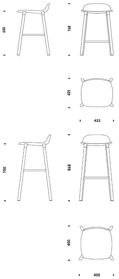 Form Barstool | Normann Copenhagen | Useful | Pinterest