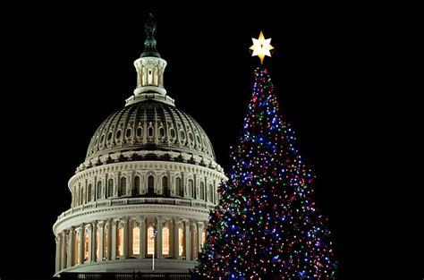 washington  capitol christmas holiday decorations