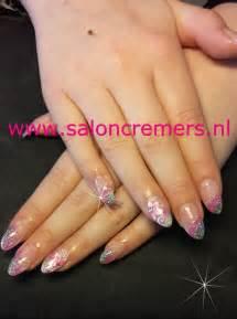 Almond shape nails almonds pink nail designs