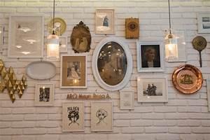 Mur De Photos : d cembre mur de cadres cr er une harmonie la d co ~ Melissatoandfro.com Idées de Décoration
